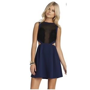 Bcbgeneration, size 6, side-cut-out dress